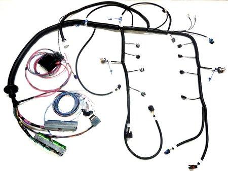 bp wiring harness bp automotive base ls1 4l60e drive by cable engine harness  bp automotive base ls1 4l60e drive by