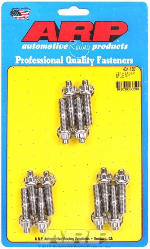 ARP Stainless Steel Header Stud Kit 434-1301